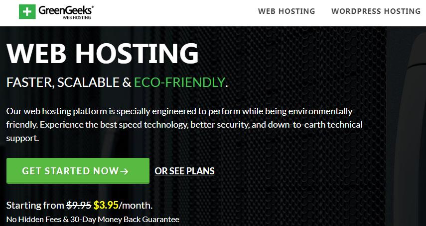 GreenGeeks Webhost Review 2019-Most Eco Friendly Hosting:World's #1 Green Energy Web Hosting Provider